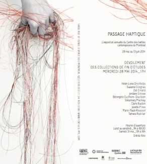 vernissage passage haptique